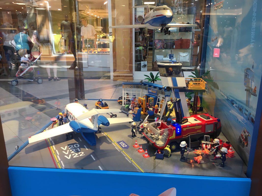 Playmobil-Ausstellung. Foto: Brücken-Center Ansbach