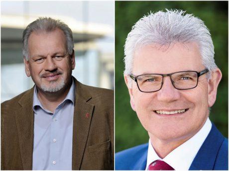 Harald Weinberg (DIE LINKE, links im Bild) und Artur Auernhammer (CSU, rechts im Bild) vertreten den Wahlkreis 241 künftig in Berlin - Fotos: DIE LINKE/CSU.