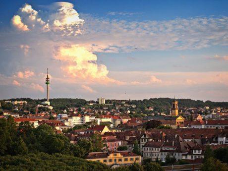 Ansbach von oben - Foto: Chris Finsterer.