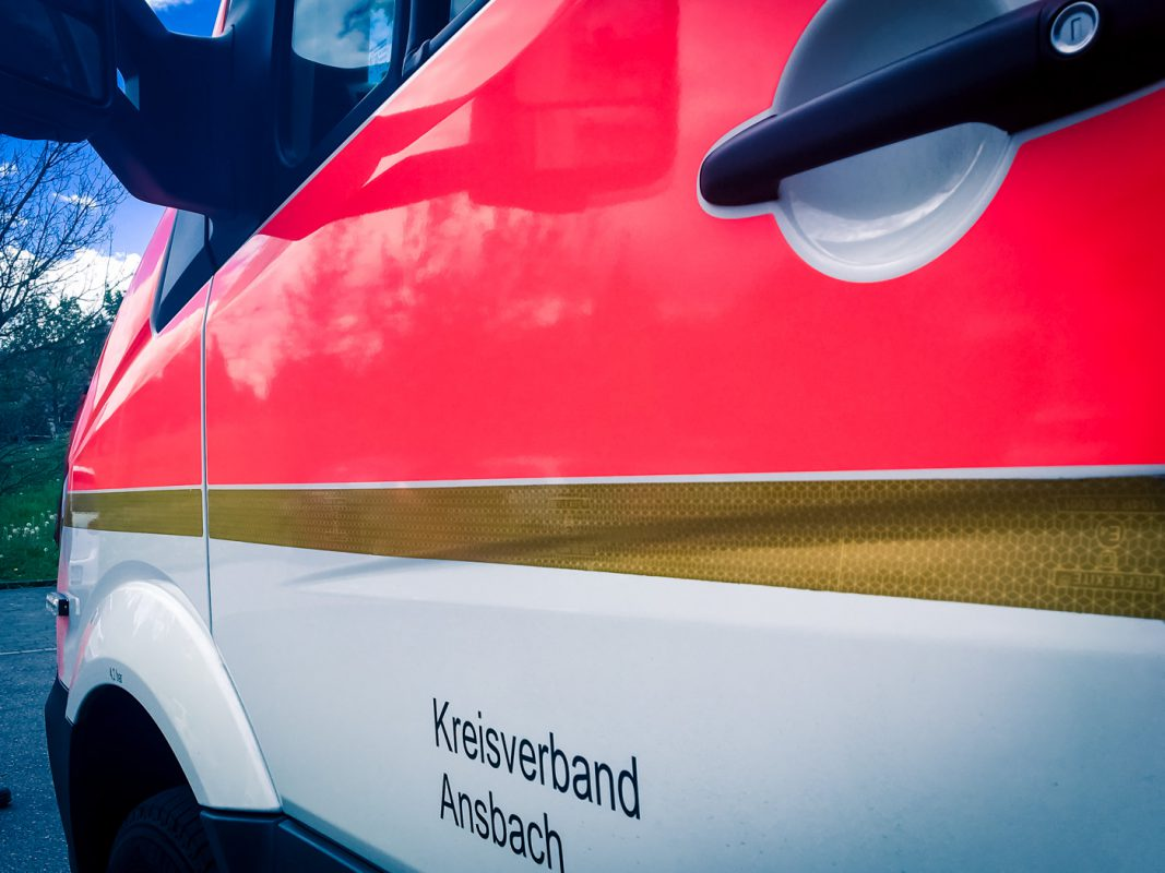 Rettungswagen des BRK Kreisverband Ansbach. Foto: Larissa Noack