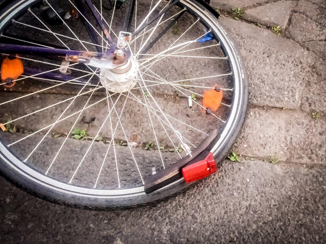 Fahrradsturz. Symbolfoto: Pascal Höfig