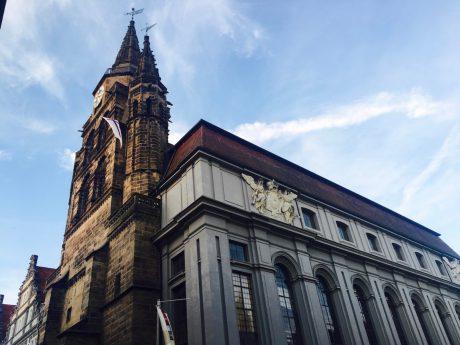 Gumbertuskirche in Ansbach. Foto: Larissa Noack.