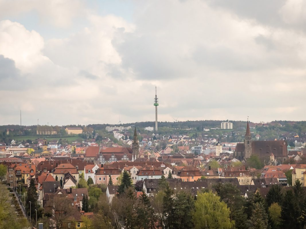 Blick auf Ansbach. Foto: Pascal Höfig.
