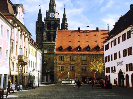 Ansbacher Altstadt. Foto: Linda Walterschen.