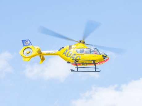 Hubschrauber der ADAC Luftrettung. Foto: Pascal Höfig