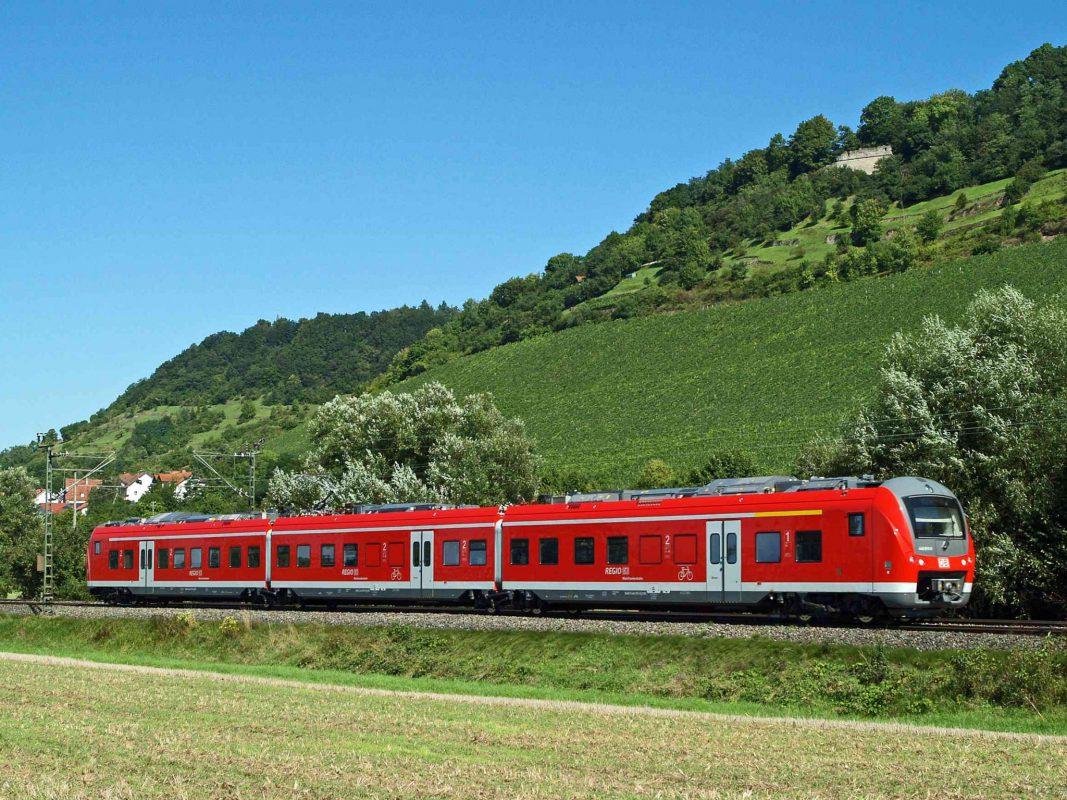 Die Mainfrankenbahn der DB-Regio (hier bei Zeil a. Main) - Foto: DB-Regio.