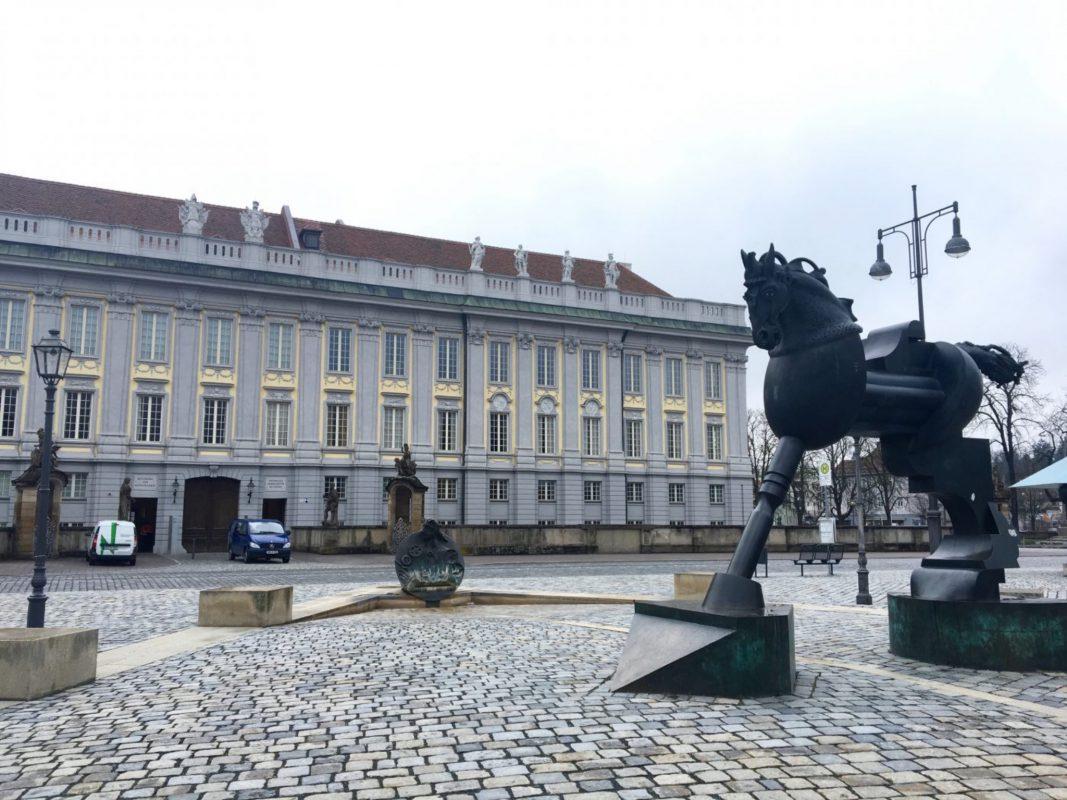 Die Ansbacher Residenz. Foto: Larissa Nowak