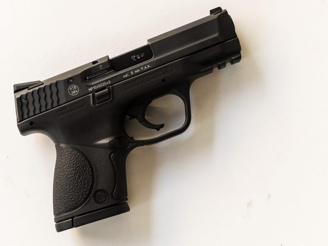 Pistole. Symbolfoto: Pascal Höfig