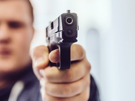 9mm Pistole. Symbolfoto: Pascal Höfig