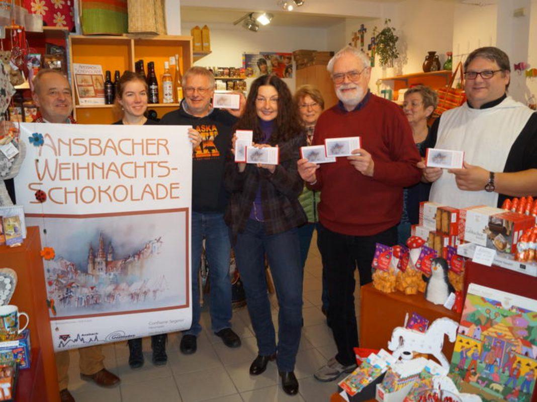 Neue Ansbacher Weihnachtsschokolade wird vorgestellt - Foto: Stadt Ansbach