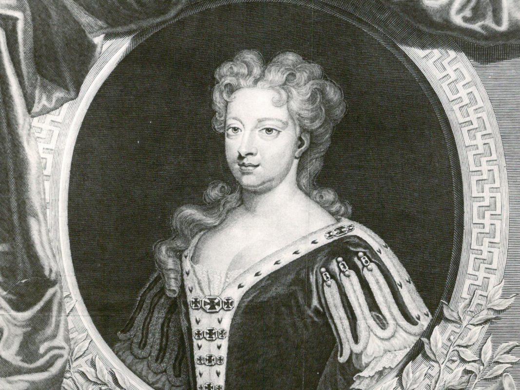 Wilhelmina Charlotte Caroline von Brandenburg-Ansbach (* 1. März 1683 in Ansbach; † 20. November 1737 in London) - Foto: Stadtarchiv Ansbach.