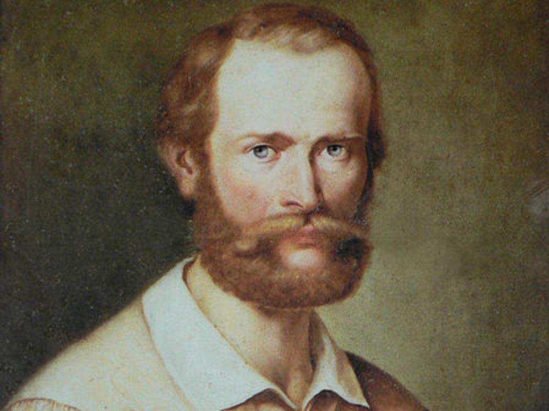 Joseph Ernst von Bandel (* 17. Mai 1800 in Ansbach; † 25. September 1876 in Neudegg) - Foto: Stadtarchiv Ansbach.