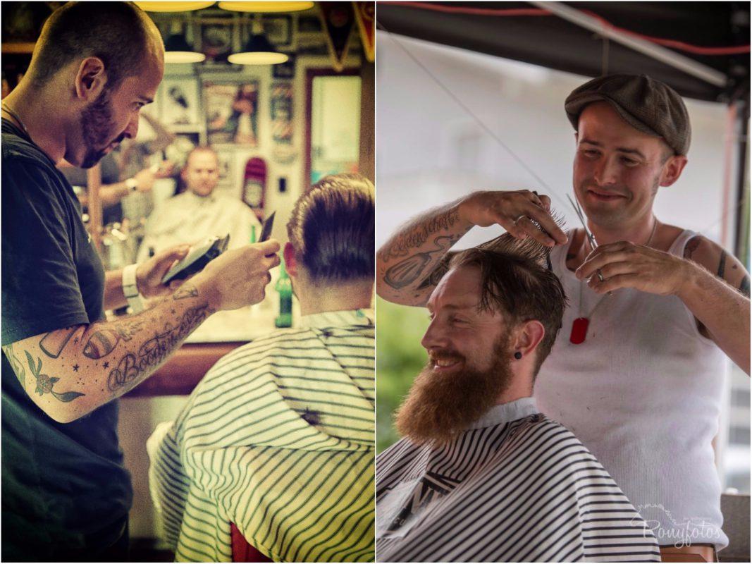 Benni Barber wird sich am 9 Dezember um die Bärte und Frisuren der anwesenden Herren kümmern. Foto: Benjamin Jahns