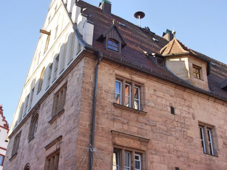 Das Stadthaus in Ansbach - Foto: Barbara Duna.