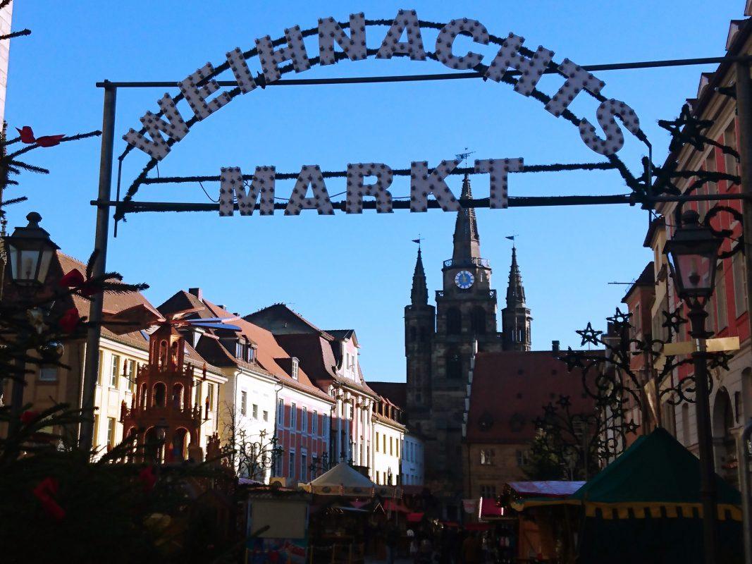 Der Ansbacher Weihnachtsmarkt - Foto: Barbara Duna.
