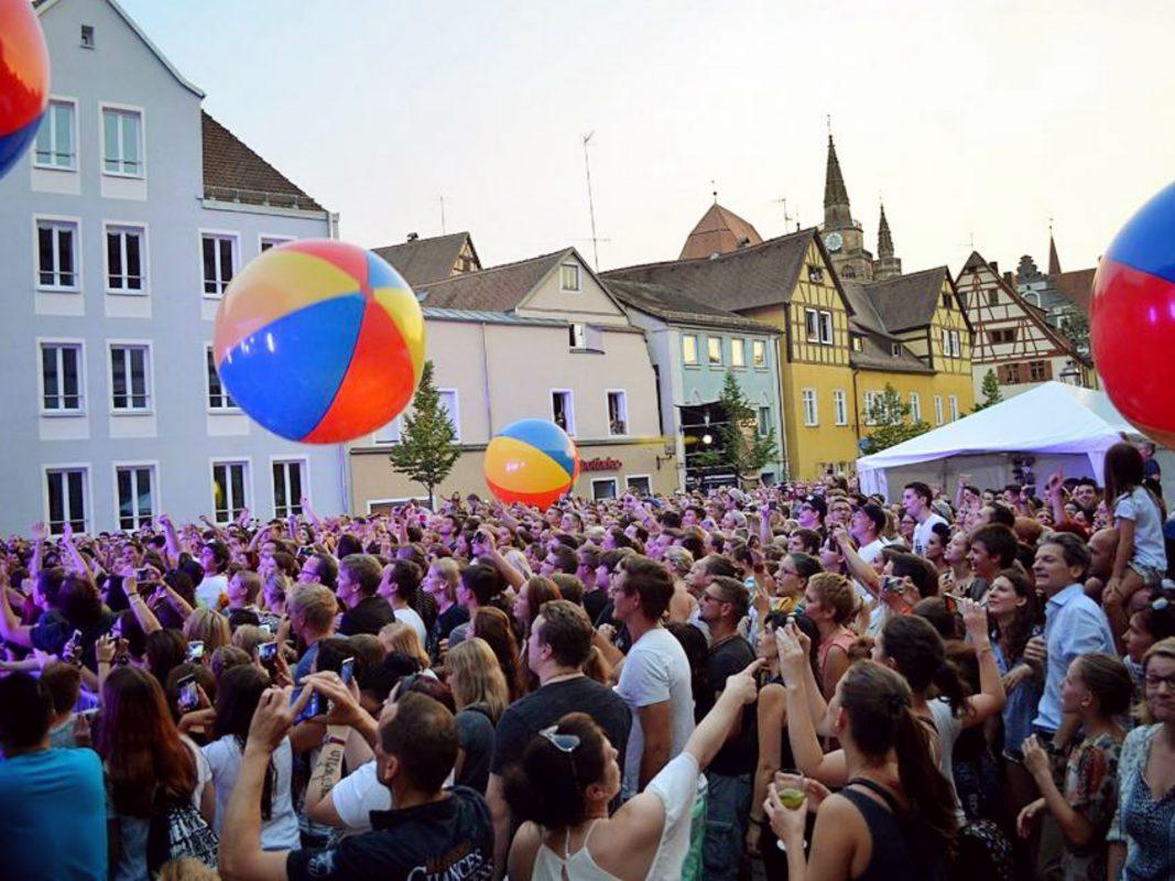 Begeistertes Publikum bei den letztjährigen Ansbach Open - Foto: Antje Finsterer.