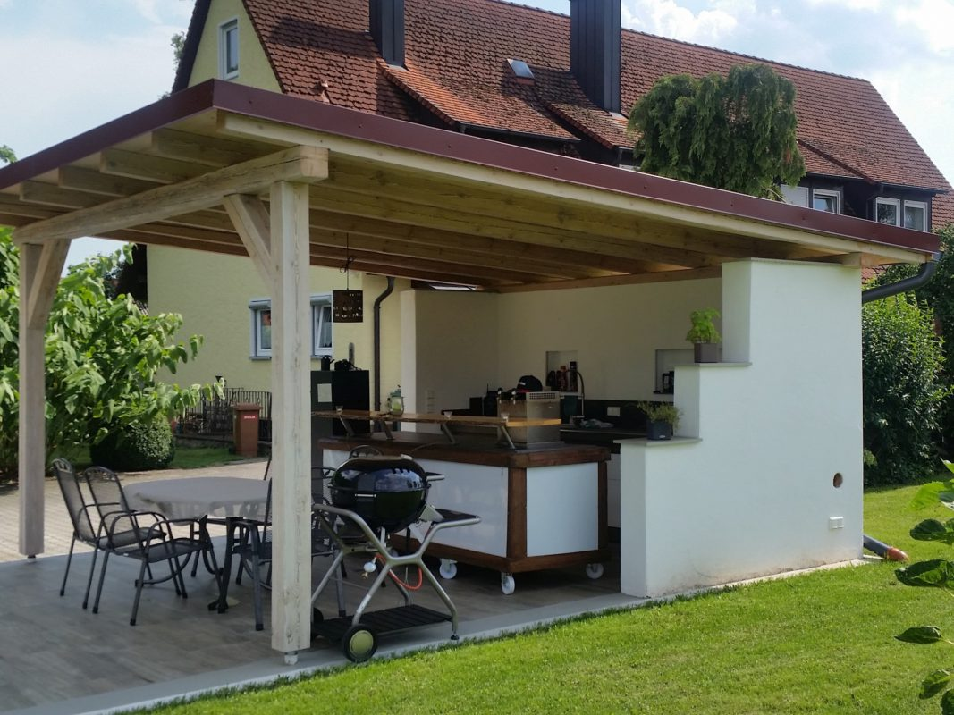 Die Außenküche von Thomas Hofmockel - Foto: BBQ Ömer.