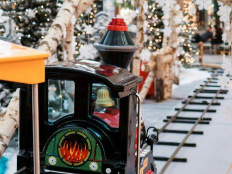 Weihnachtsstimmung im Brücken-Center Ansbach. Foto: Brücken-Center Ansbach