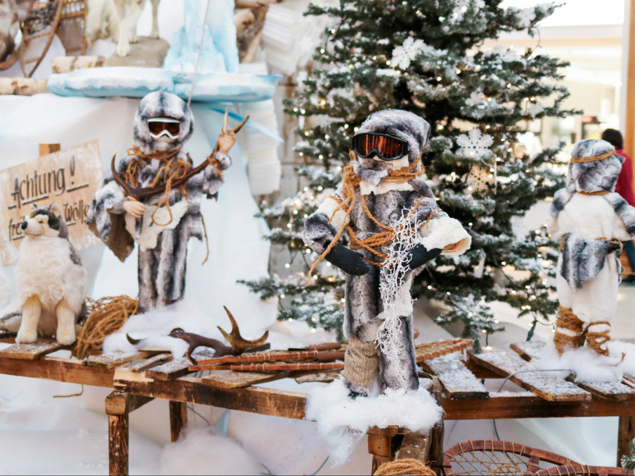 Im Brücken-Center Ansbach wird es weihnachtlich! Foto: Brücken-Center Ansbach