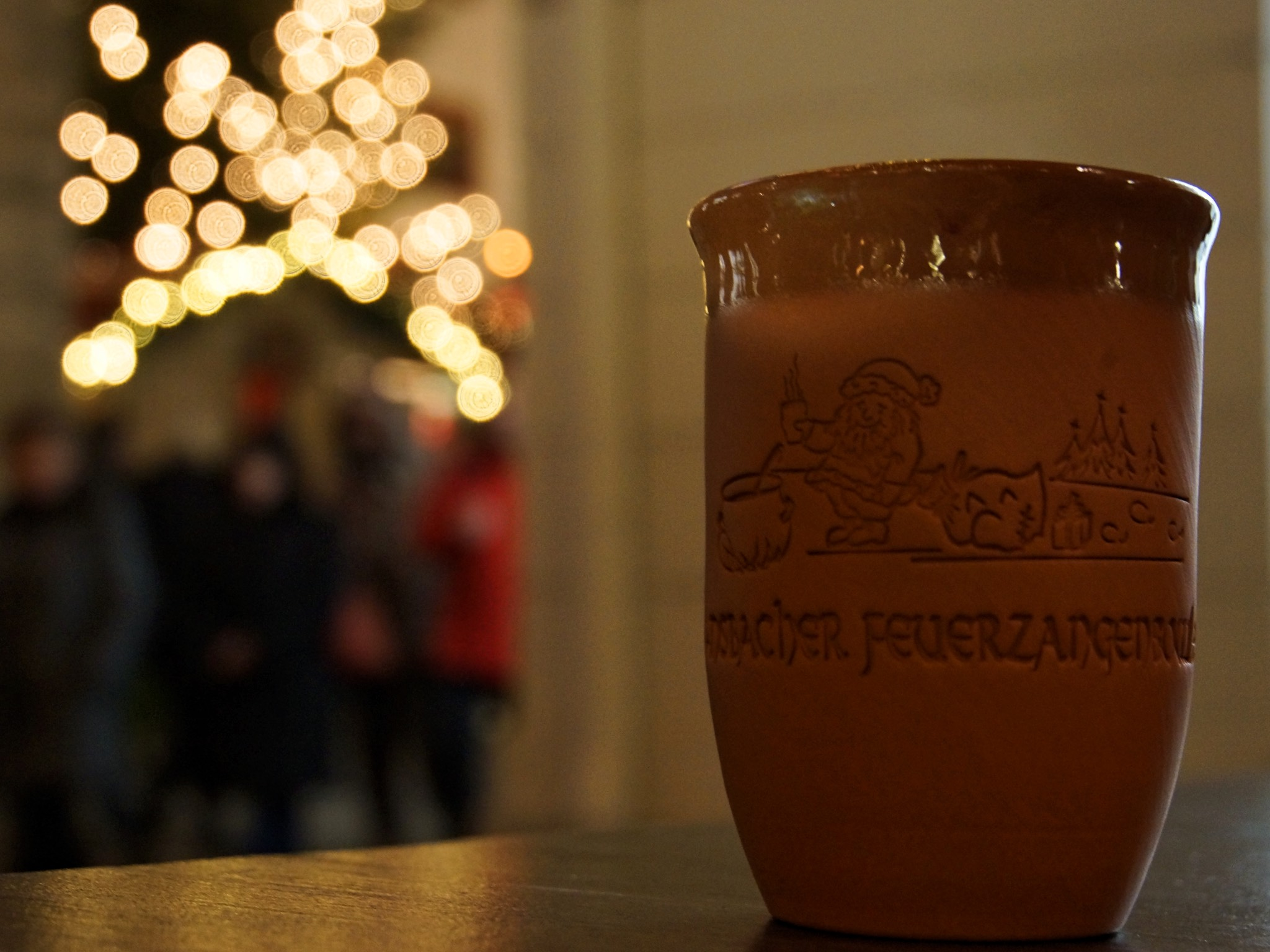 Ansbacher Feuerzangenbowle. Foto: Barbara Duna