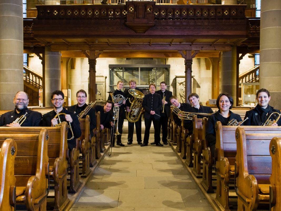 """Das Ensemble """"Hohenlohe Brass"""" - Foto: Ensemble """"Hohenlohe Brass""""."""