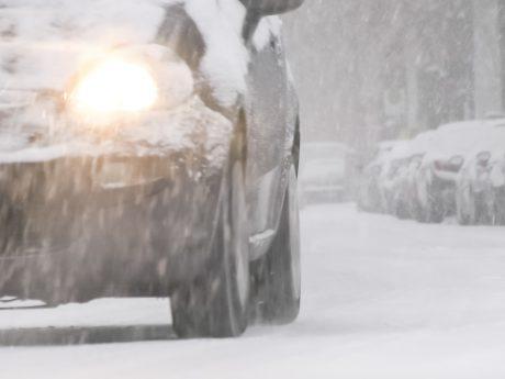 Schneeglatte Straßen in und um Ansbach - Foto: Pascal Höfig.