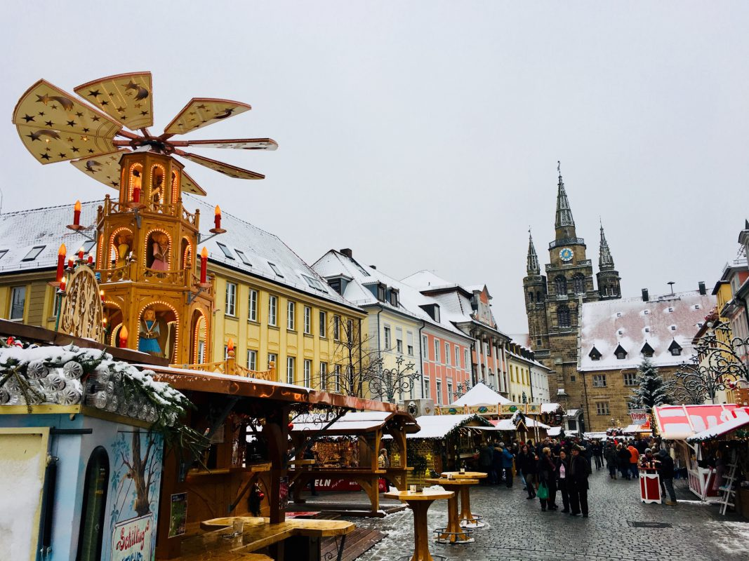 Fränkischer Weihnachtsmarkt Ansbach - Foto: Markus Müller.