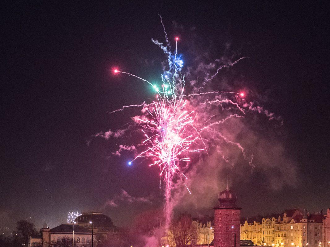 Silvesterfeuerwerk. Foto: Pascal Höfig