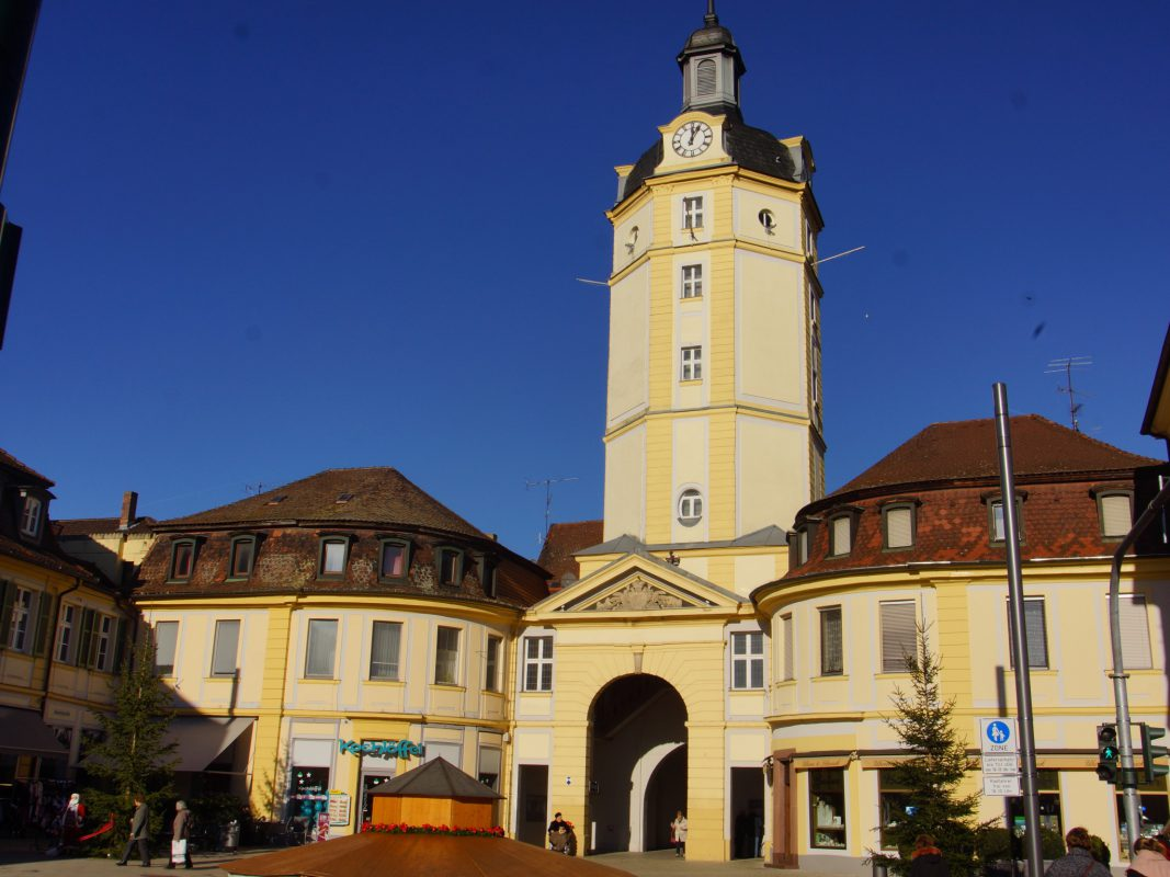 Das Herrieder Tor in Ansbach. Foto: Barbara Duna.