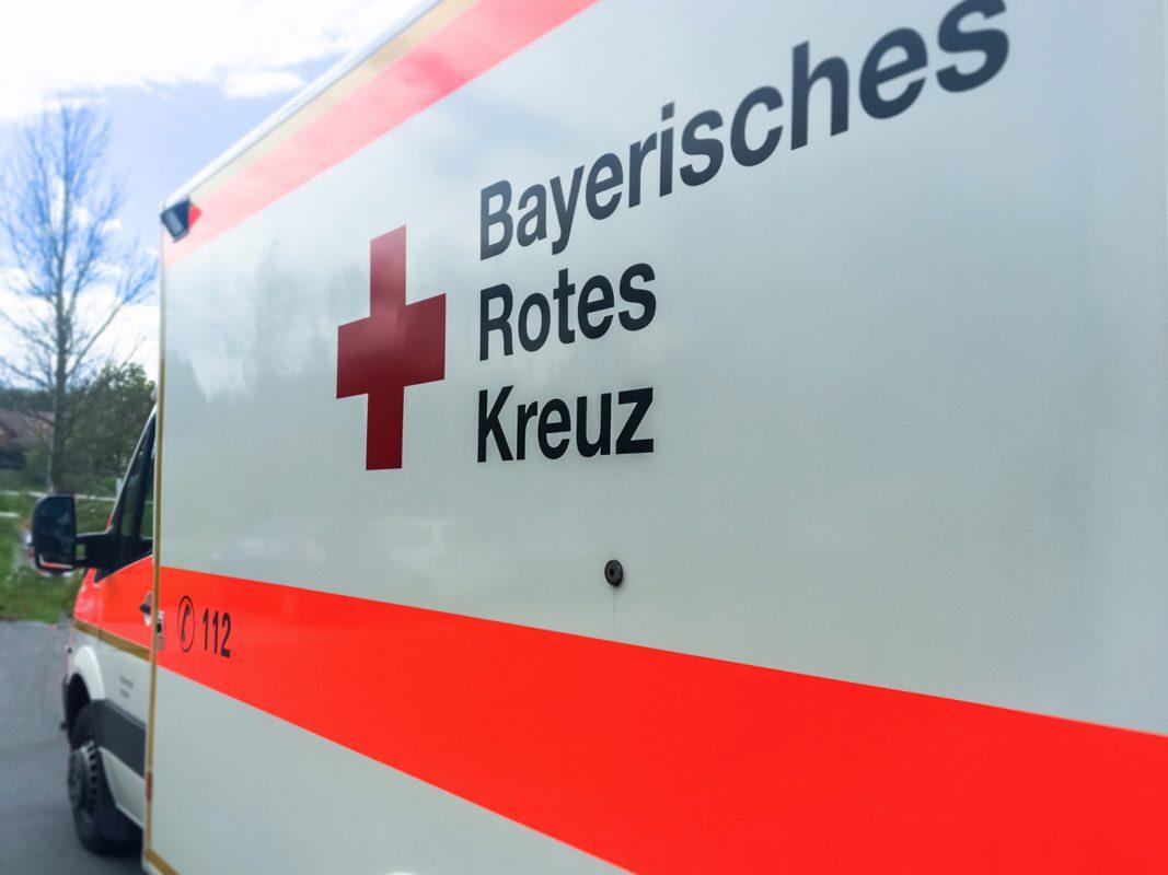 Bayerisches Rotes Kreuz. Foto: Pascal Höfig
