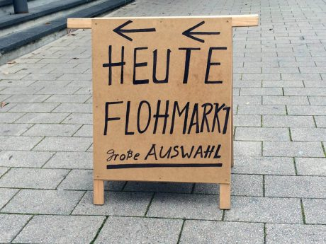 Symbolbild Flohmarkt - Foto: Pascal Höfig.