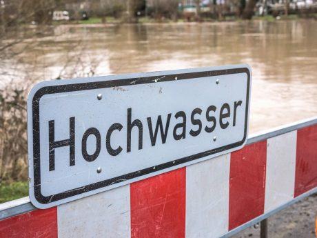 Achtung Hochwasser! Symbolfoto: Pascal Höfig