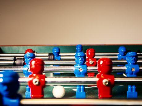 Tischfußball. Symbolfoto: Pascal Höfig