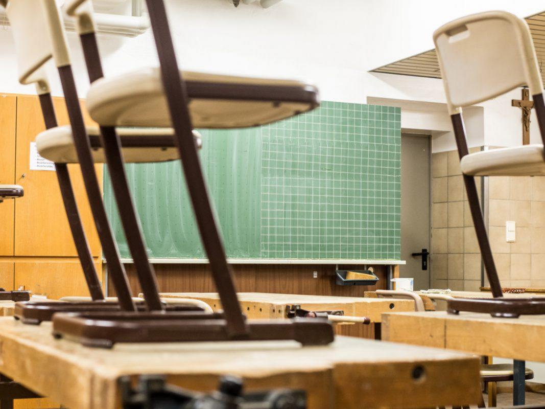 Klassenzimmer in der Schule. Symbolbild: Pascal Höfig