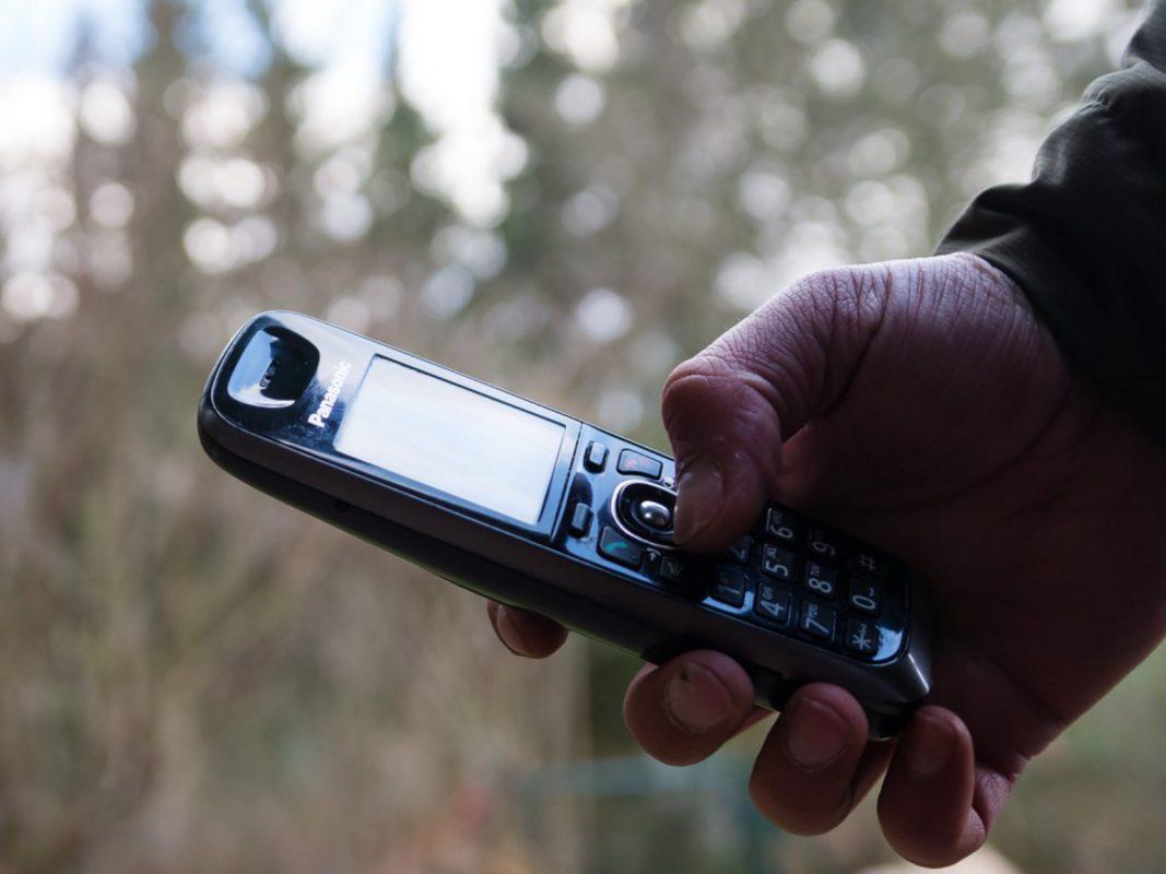 Telefon. Symbolbild: Pascal Höfig