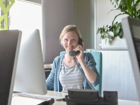 Wüma Trainee Silke. Foto: JUntch/Vogel Business Media