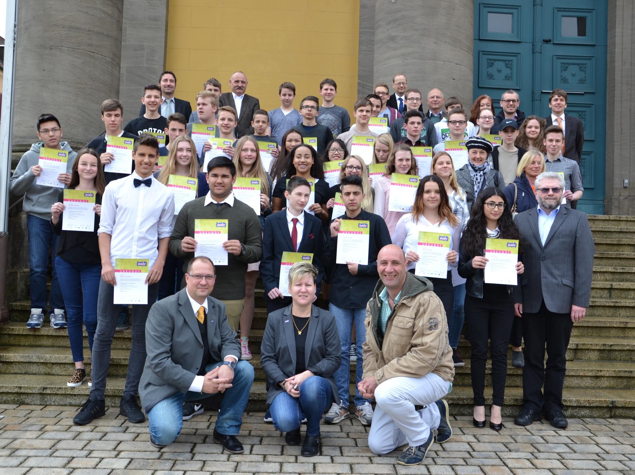 Neue Coolrider nach erfolgreicher Ausbildung. Foto: VAG-Nürnberg.