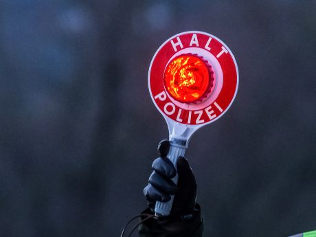Symbolbild Polizeikontrolle - Foto: Pascal Höfig.