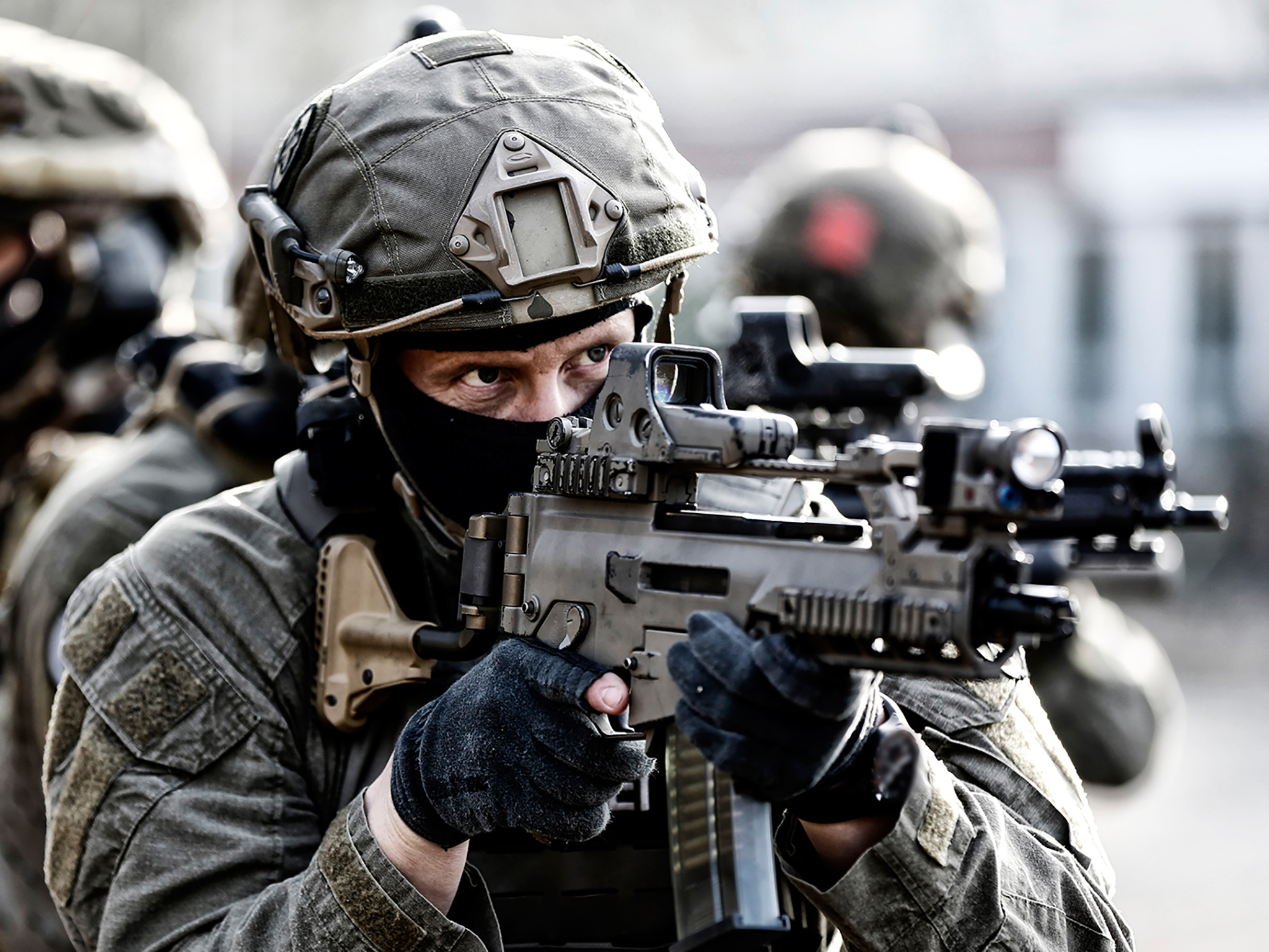 Situationstraining der GSG9. Foto: Bundespolizei