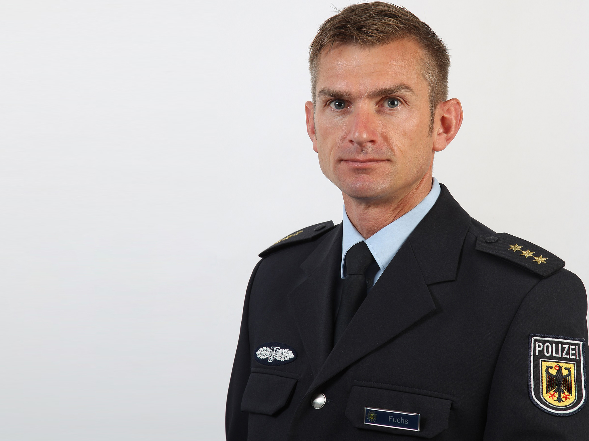 Jéróme Fuchs, Kommandeur der GSG 9. Foto: Bundespolizei