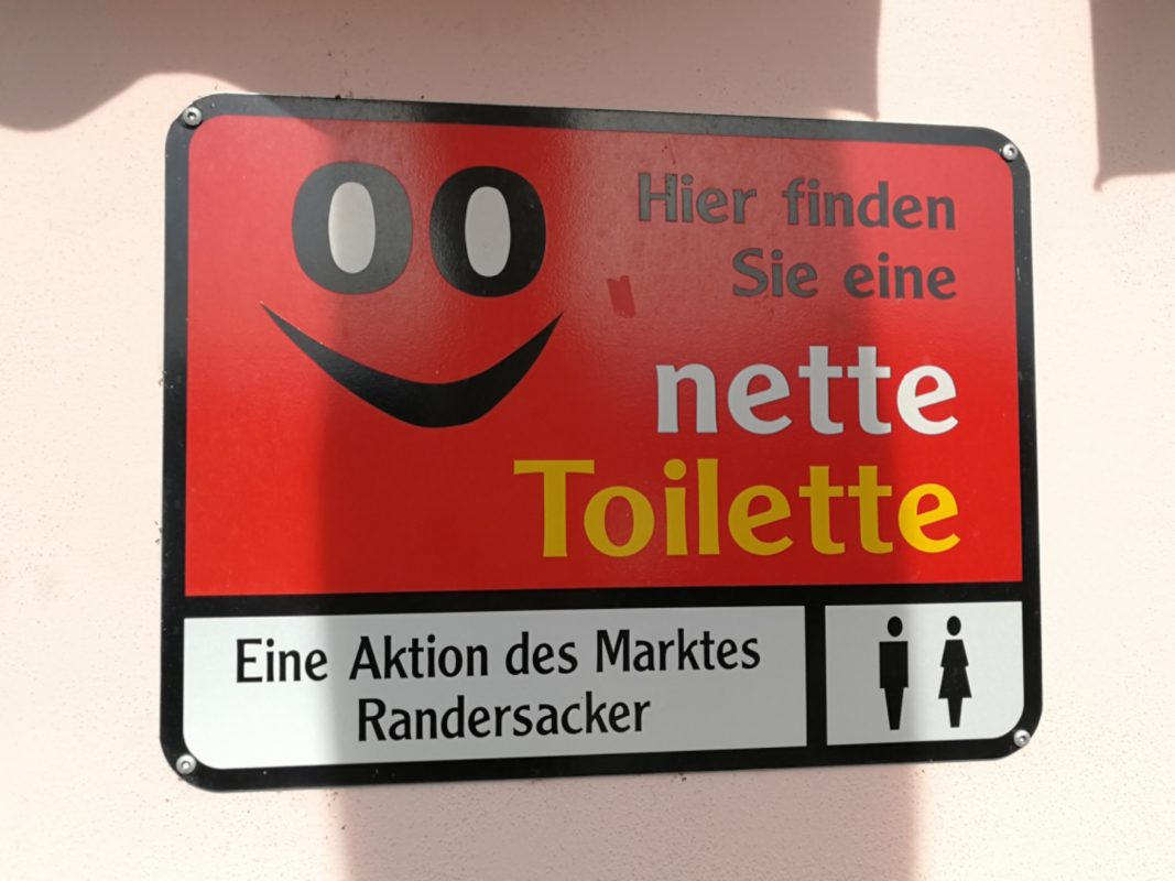 Die nette Toilette. Foto: Leni van der Straat