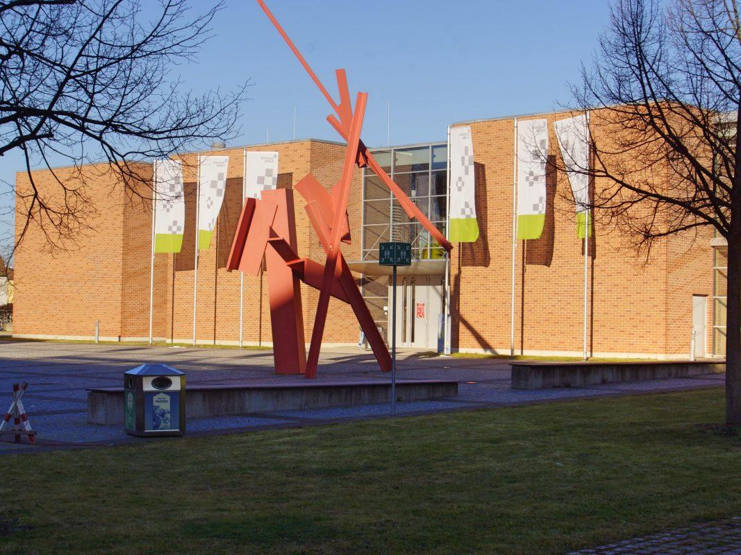 Die Hochschule in Ansbach. Foto: Barbara Duna.