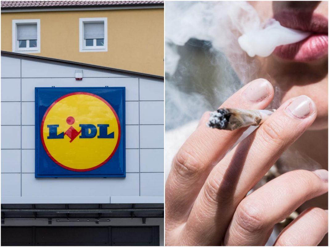 Gibt's bei Lidl demnächst Cannabis? Fotos: Pascal Höfig