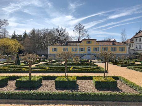 Traumhafte Parkanlage im Hofgarten. Foto: Frederik Löblein.