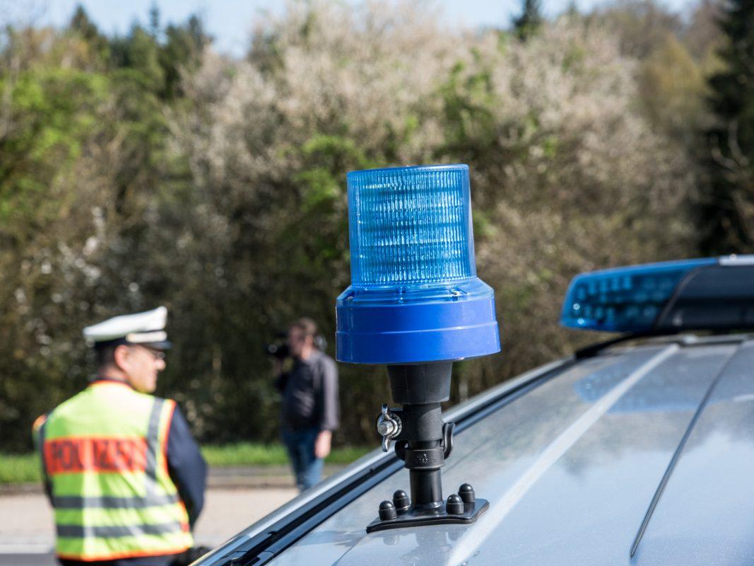 Blaulicht eines Streifenwagens. Foto: Pascal Höfig