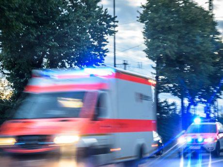Rettungsdienst und Notarzt im Einsatz. Foto: Pascal Höfig.