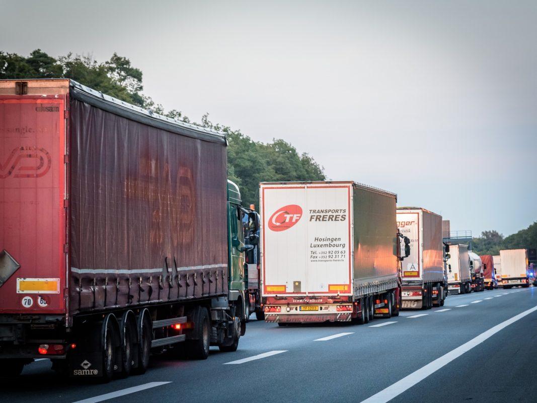 Symbolbild Stau auf der Autobahn. Foto: Pascal Höfig.