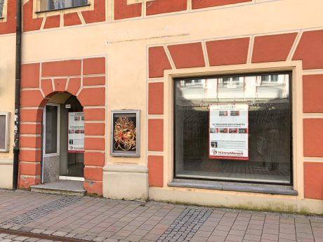 Einer von mehreren Leerständen in unserer Innenstadt. Foto: Frederik Löblein.