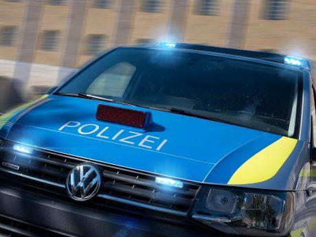 Streifenwagen der Polizei im Einsatz. Foto: Pascal Höfig