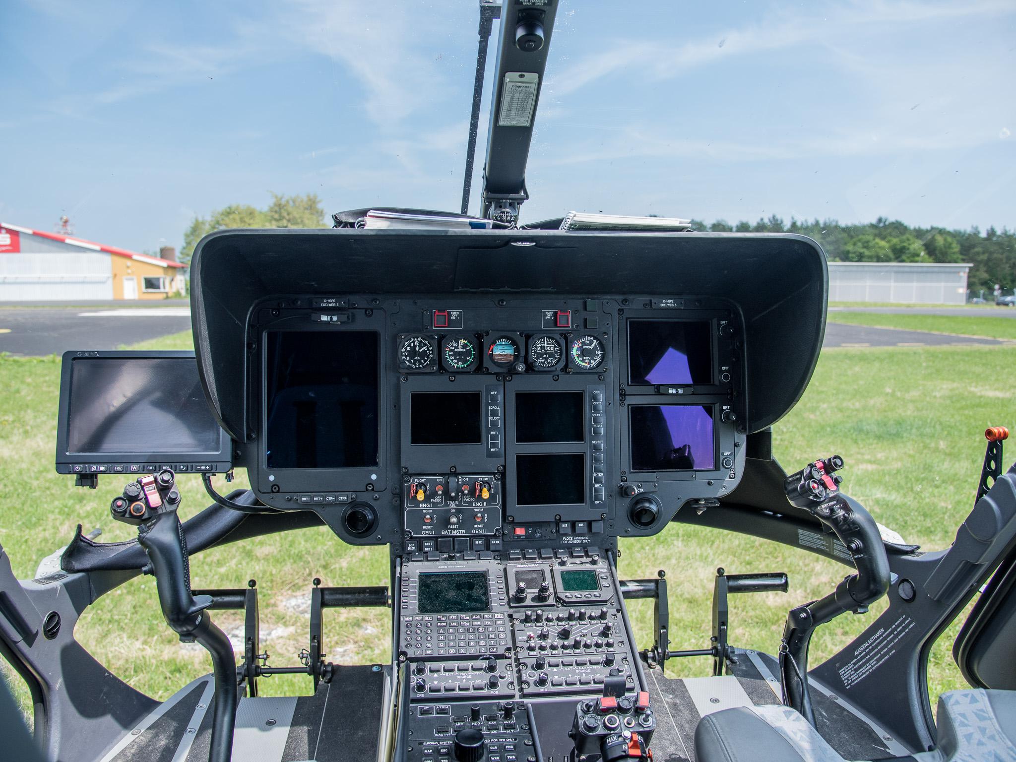"Aus dem Cockpit des ""Edelweiß"". Foto: Pascal Höfig"